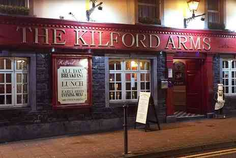 The Kilford Arms Hotel - One, Two or Three Night stay for two with breakfast and late checkout, £99 to include dinner - Save 0%