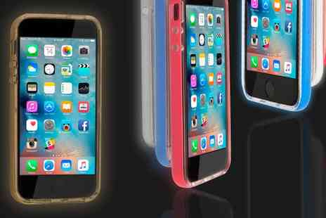 Groupon Goods Global GmbH - Light Up Case for iPhone 5,5S,6 Or 6 Plus - Save 64%