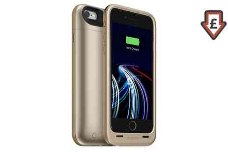 Groupon Goods Global GmbH - Mophie Juice Pack Ultra Compact Battery Case for iPhone 6 Or 6s - Save 58%