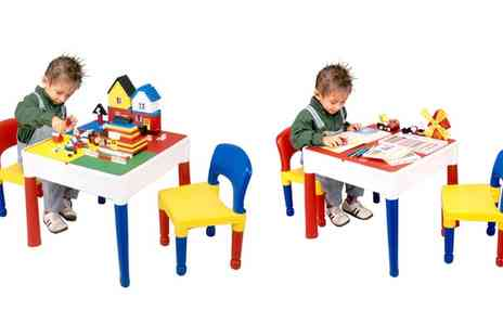 Groupon Goods Global GmbH - Liberty House Toys Five In One Multipurpose Activity Table - Save 8%
