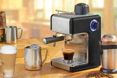 Groupon Goods Global GmbH - Cooks Professional Espresso Machine In Three Colours - Save 77%