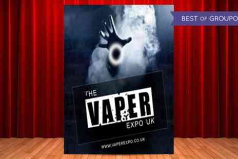 4ward Events - One general admission ticket to the Vaper Expo UK on 28 May - Save 38%