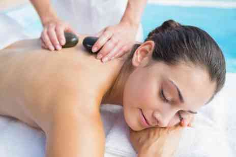 Beautique - 45 Minute Hot Stone Massage with Optional 30 Minute Facial - Save 40%