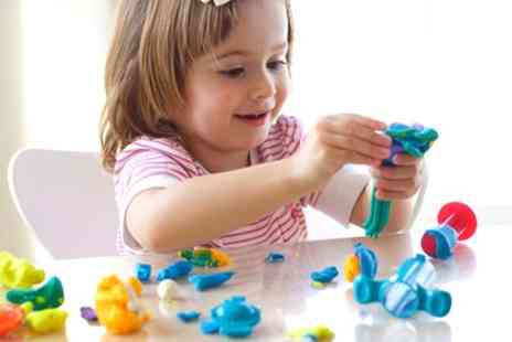 Crafty Clay - One or Two Hour Air Dry Clay Workshop for One or Two Children - Save 23%
