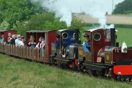 The Wells & Walsingham Light Railway - Child or Adult Return Ticket for The Wells & Walsingham Light Railway - Save 36%