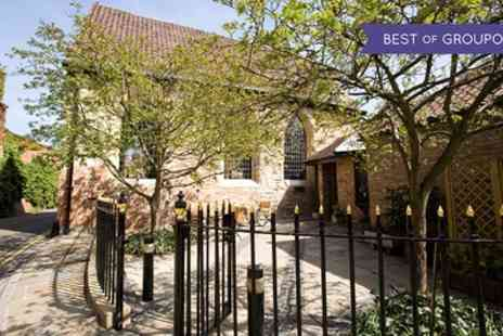 Bedern Hall - Sparkling Afternoon Tea for Two at Bedern Hall - Save 0%