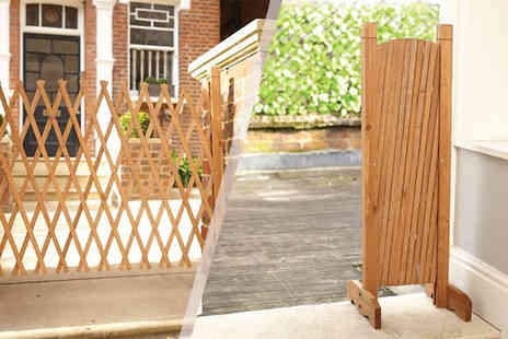 EasyLife Group - 30 190cm Portable Expanding Fence - Save 60%