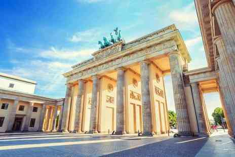 Crystal Travel - Four or six night Berlin and Prague break with flights and train transfers, and optional tours - Save 33%