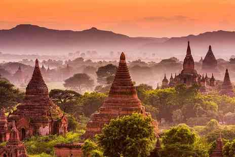 Enjoy Myanmar Holiday Tours & Travel - Eight day Burma tour including breakfast and transfers - Save 47%