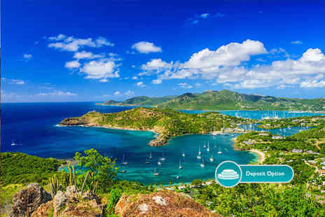 Crystal Travel - Seven or fourteen night all inclusive Antigua stay with flights - Save 0%