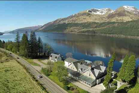 Inspired Hotels - Two night Scottish Highlands stay for two at Letterfinlay Lodge, with breakfast and two course dinner on first night - Save 66%
