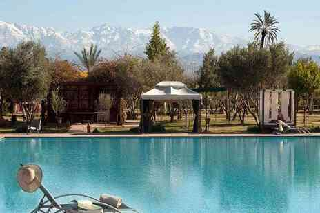 Crystal Travel - Three, Four or Five night all inclusive 5 Star Marrakech break including flights - Save 36%