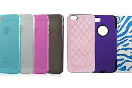 Groupon Goods Global GmbH - Case for iPhone 5 in Choice of Model and Colour - Save 75%
