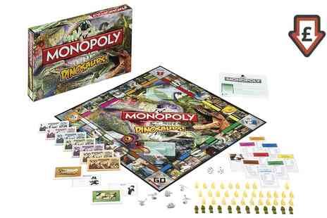 Groupon Goods Global GmbH - Monopoly Dinosaur Edition - Save 43%