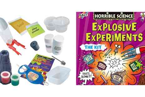 Groupon Goods Global GmbH - Galt Toys Horrible Science Explosive Experiments - Save 58%