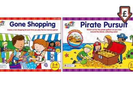 Groupon Goods Global GmbH - Galt Toys Gone Shopping or Pirate Pursuit - Save 50%
