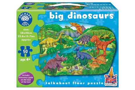 Groupon Goods Global GmbH - Orchard Toys Big Dinosaurs Floor Puzzle - Save 10%