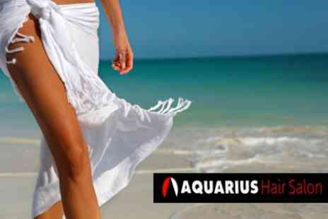 Aquarius Hair and Beauty - Two Full Body Spray Tans for £16 - Save 60%