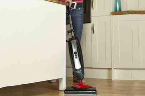 Groupon Goods Global GmbH - Hoover SSNA1700 SteamJet Dual Head Steam Mop - Save 50%