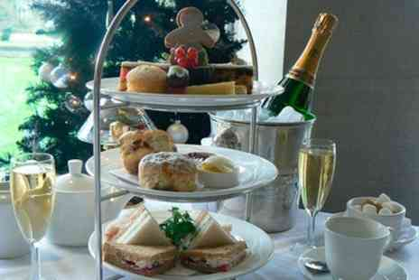 MPW Steakhouse Bar - Champagne Afternoon Tea for Two or Four - Save 49%