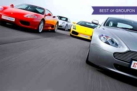 EveryMan Racing - Driving Experience in Up to Three Supercars - Save 0%
