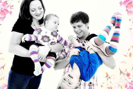 Kline Studios - Easter Family Photoshoot with Six Cards or Eight Prints - Save 47%