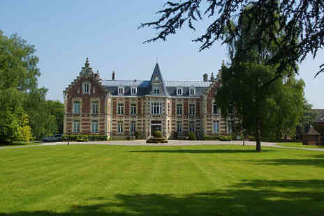 Najeti Hotel Chateau de Tilques - Four Star 19th Century Chateau Within National Park - Save 58%