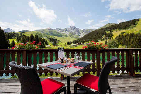 Hotel Mercure Courchevel - Three Star Family Summer Fun in the Alps - Save 34%