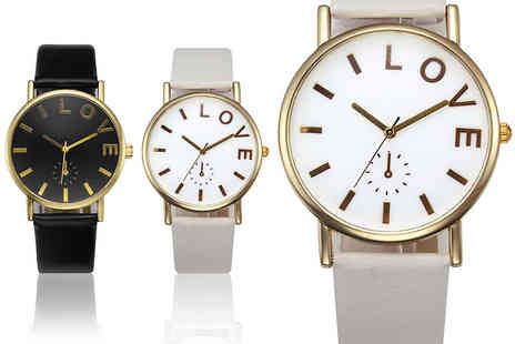 Solo Act  - Ladies love watch choose from two designs - Save 72%