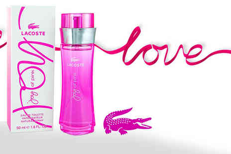 Deals Direct - 50ml bottle of Lacoste Joy of Pink EDT - Save 39%
