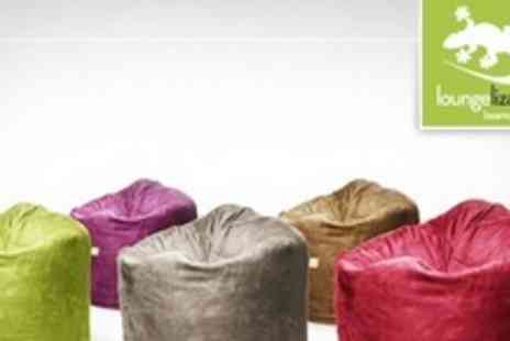 BuyYourBeanBags.co.uk - Loungelizard Beanbags in a choice of 12 colours - Save 66%
