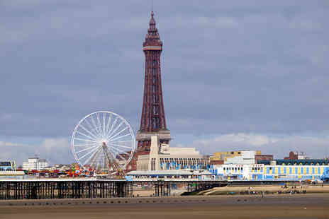 The Brioni - Two night beach front Blackpool stay for two - Save 51%