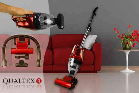 Qualtex - Two In One upright and handheld vacuum cleaner - Save 69%