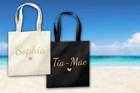 Treats on Trend - Personalised tote bag - Save 70%