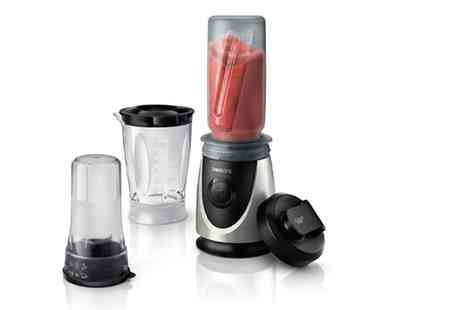 Groupon Goods Global GmbH - Philips Mini Blender with Mini Chopper Include Free Delivery - Save 46%