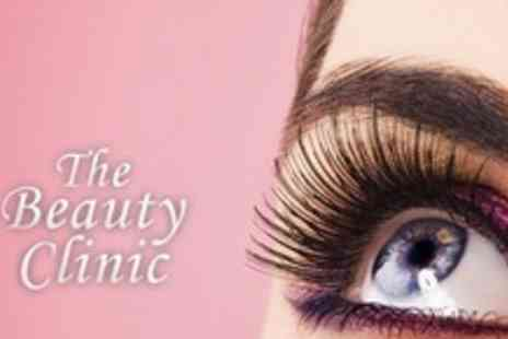 The Beauty Clinic - Lash Extensions Plus Brow Shape - Save 68%