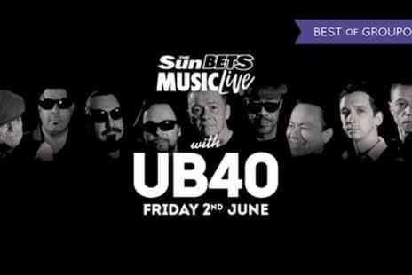 UB40 Live - Tickets to UB40 on 2 June - Save 0%