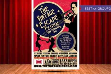 The Vintage Escape - The Vintage Escape Festival on 15 or 16 July - Save 24%
