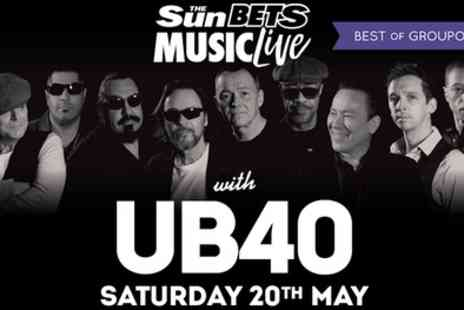 VMS Live 2011 - UB40 Ticket on 20 May or 30 June at The Grandstand, Doncaster or High Gosforth Park, Newcastle - Save 0%