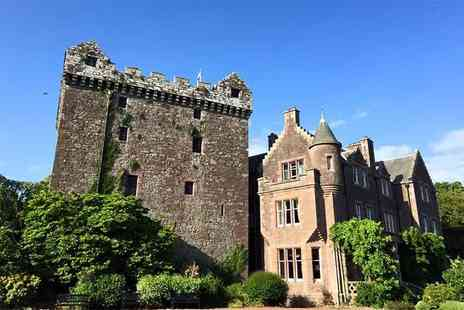 Comlongon Castle - Sunday to Thursday overnight castle stay for two including breakfast - Save 51%