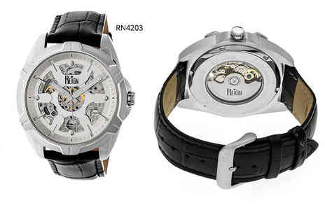 Idealdeal - Mens automatic Reign Carlisle watch choose from six designs - Save 87%
