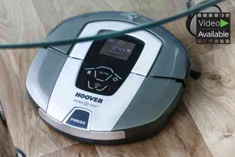 Groupon Goods Global GmbH - Hoover RBC090001 Robo.Com3 Robot Vacuum Cleaner With Free Delivery - Save 58%