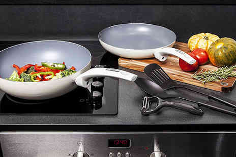 Deals Direct - Five piece Tower cookware set - Save 50%