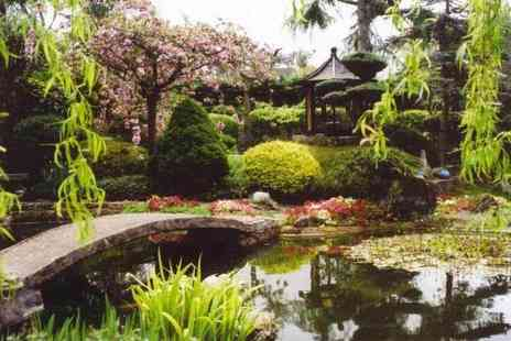 Pure Land Meditation Centre - Entry for two adults or Family entry for two adults and two children to Pure Land Japanese Garden - Save 36%