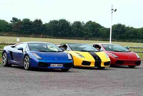 Experience - Three lap supercar experience - Save 74%