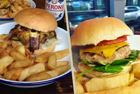 Fear X Loathing - Burger and salted rosemary fries each for two - Save 48%