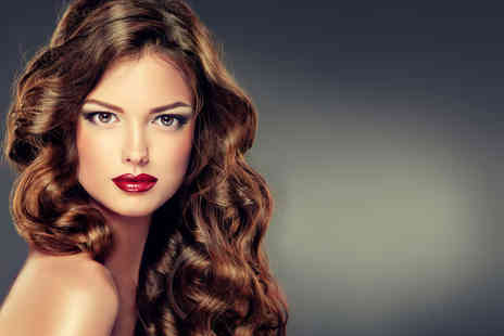 Exquisite Hair & Beauty - Half head or full head of highlights with wash, cut and blow dry - Save 68%