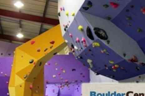 Boulder Central - Two Hour Bouldering Taster Session For Four People - Save 75%