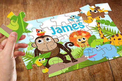 Eastmon Online - A personalised kids name puzzle - Save 60%