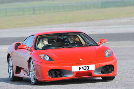 Supercar Test Drives - Weekday three lap Ferrari driving experience - Save 74%